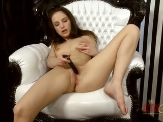 brunette oriental Ann Marie La Sante gets hold of uncovered in addition to plays with her appreciate puncture