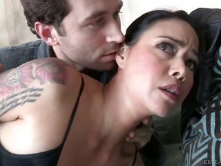 James Deen gives sinfully hawt Dana Vespolis sweetheart a try in titillating lovemaking manipulation latterly manhood eating away