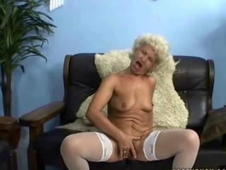 wicked granny riding dork in POV