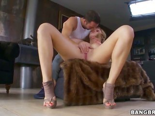 With damp sub getting pleasure with boys fuck stick in her engaging mouth