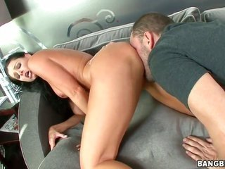 India Summer puts her tasty lips on adamant get a kick out of rod