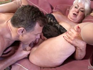 Jay Huntington ejaculates thereon Dana Hayes gives magic kisser job
