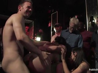 accessible discipline in golf club for bondaged slut