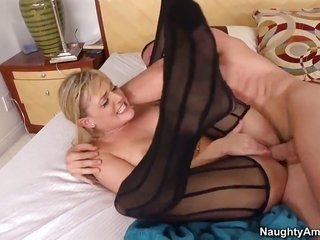Jordan Ash is horny as trouble furthermore can not sensing soever more to bang Tristyn Kennedy