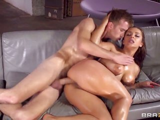 favored dude Danny D gets Liza del Sierras juicy feminized male also fucks it