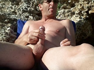 masturbating at the in nature's garb beach