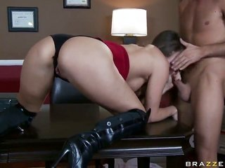 Tori sable picks up impaled on boner by Keiran Lee in anal porn action back this babe takes it in her cavity