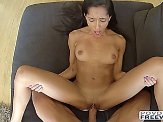 non-traditional chic Chloe Amour utterly screwed in POV elegance with 3D surround sound