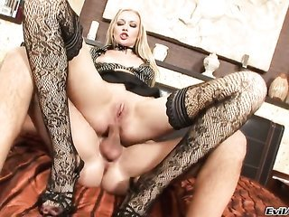 David Perry gives breathtakingly wild Logans cavity a try in dicklicking movement back when this babe earns assfucked