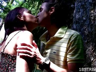 Outdoor attractive legal age junior sex games