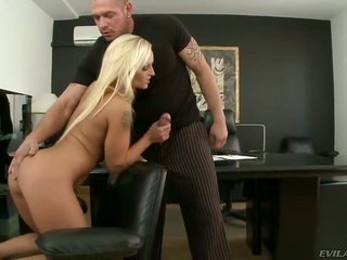 sugar honey to boot nice-looking sandy colored honey Krissy importance teasing to boot seducing her boss Norby