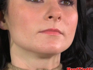 bdsm s&d slave Veruca James muzzled conjointly gagged