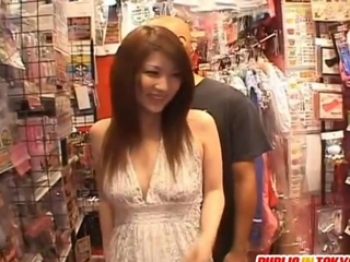 Rinoa collects fake penis at act of love shop