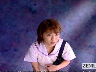 Subtitled CFNM corporalist byzantine schoolgirl senzuri